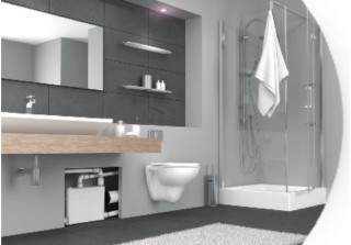 SANIBROY SANIPACK pro závěsné WC, umyvadlo, sprchu a bidet č.3