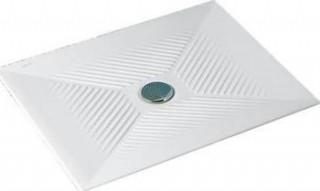 Ideal Standard Vela sprchová keramická vanička 120x80 cm, pro tělěsně postižené + sifon č.1