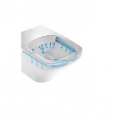 HOPA NOVA WC závěsné RIMLESS, bezoplachové + WC sedátko soft-close č.4